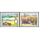Senegal 2006 - 28th Paris-Dakar Rally in 2006 - car, helicopter - dromedary and oasis - 2st. MNH