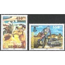 Senegal 2007 - 30th Paris-Dakar Rally in 2008 - car, motorbike - dromedary - 2st. MNH