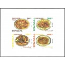 Senegal 2007 - Gastronomy: Senegalese dishes - sheetlet 1000 fcfa UNPERFORATED MNH