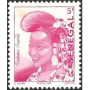 Senegal 2002 - Mi 1958 type 2 - Peulh Woman 5 f - postes 2002 MNH
