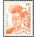 Senegal 2002 - Mi 1960 type 2 - Peulh Woman 20 f - postes 2002 MNH