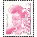 Senegal 2002 - Mi 1962 type 2 - Peulh Woman 40 f - postes 2002 MNH