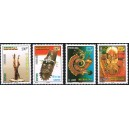 Senegal 2002 - Mi 2021 to 2024 - Senegalese sculpture - 4 st. MNH