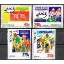 Senegal 2000 / 2004 - Mi 2046 to 2049 - Cycling: UCI - 4 st. MNH
