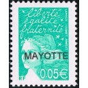 2003 - Mayotte - Marianne de Luquet - Y&T 114a - 0,05 € MAYOTTE - RR **
