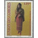 2002 - Mi 1782 - traditional clothes: lesso - 125 fc - MNH