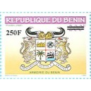 2010 - local overprint - Benin arms - denomination 200 f overprint 250 f - MNH