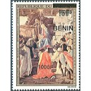 2009 - Mi 1626 - local overprint 1000 f - adoration of the Kings, by Botticelli - MNH