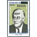 2009 - Mi 1611 - local overprint 400 f - Franklin D. Roosevelt - MNH