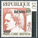 2009 - Mi 1620 - local overprint 400 f - Marie Curie - MNH