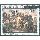 2009 - Mi 1550 - local overprint 300 f - Napoloon on the Battlefield of Eylau, by A. Gros - horses -MNH