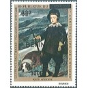 2009 - Mi 1540 - local overprint 300 f - Prince Balthazar, by Velasquez - UNICEF - dog - MNH