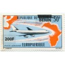 2009 - Mi 1525 - surcharge locale 200 f - Europafrique - avion Boeing 747 **