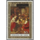 2009 - Mi 1529 - local overprint 200 f - Adoration of the Kings, by Rubens - MNH