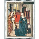 2009 - Mi 1593 - local overprint 50 f - Annunciation, by Dirk Bouts - Christmas 1973 - MNH