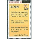 2009 - Mi 1589 - local overprint 50 f - Quote by Martin Luther King - MNH