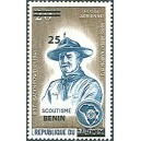2009 - Mi 1519 II - surcharge locale 25 f - Scoutisme - Lord Baden Powell - type II **