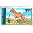 2009 - Mi 1508 - local overprint 300 f - Boxer dog - MNH