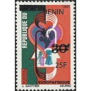 2009 - Mi 1487 - local overprint 25 f - Europafrica issue - MNH