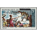 2009 - Mi 1484 - local overprint - The chameleon in the tree - folktales - horsewoman - MNH