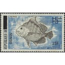 "2009 - Mi 1479 - local overprint 25 f - Fish ""drepane africana"" - MNH"