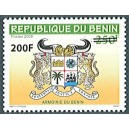 2008 - Mi 1462 - local overprint 200 f - Benin arms issue - 250 f - MNH