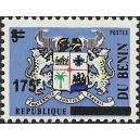 2008 - Mi 1420 - local overprint 175 f - Benin arms issue - MNH