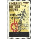 2008 - Mi 1425 - local overprint 175 f - Benin Electric Community Emblem and Pylon - MNH