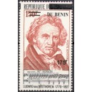 2008 - Mi 1436 - surcharge locale 175 f - Musique : Ludwig van Beethoven **