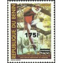 "2007 - Mi 1405 - local overprint 175 f - Monkey ""cercopithecus"" 400 f - MNH"