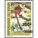 "2007 - Mi 1408 - local overprint 200 f - Monkey ""cercopithecus"" 250 f - MNH"
