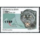 2005 - Mi 1392 - local overprint 175 f - Black panther - CV 40 € MNH