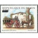 2005 - Mi 1384 - local overprint 175 f - Horseman (XIXè s.), firefighter - CV 60 € MNH
