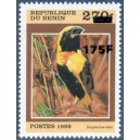 "2005 - Mi 1388 - local overprint 175 f - Bird ""euplectes afer"" MNH"