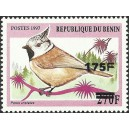 "2005 - Mi 1378 - local overprint 175 f - Bird ""parus cristatus"" MNH"