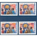 2004 - Mi 1363 to 1366 - Fight against child trafficking - 4 st. - MNH