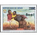 2002 - Mi 1343 type 1 - local overprint 500 f - Council of the entente - MNH
