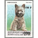 "2000 - Mi 1303 - local overprint 150 f - Dog ""cairn terrier"" - CV 100 € MNH"
