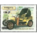 "2000 - Mi 1305 - local overprint 150 f - Old car ""Darracq 1907"" - CV 100 € MNH"