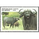 2000 - Mi 1267 - local overprint 150 f - Buffalo - CV 100 € MNH