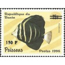 "2000 - Mi 1269 - surcharge locale 150 f - Poisson ""acanthuridae"" - cote 100 € **"