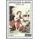 2000 - Mi 1260 - surcharge locale 150 f - St. John the Baptist as a child, by Murillo - cote 100 € **