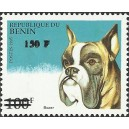 2000 - Mi 1274 - local overprint 150 f - Dog: boxer - CV 100 € MNH