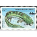 "2000 - Mi 1265 - local overprint 150 f - Prehistoric Wildlife ""dunkleosteus"" - CV 100 € MNH"