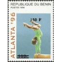 2000 - Mi 1278 - local overprint 150 f - Summer olympics Atlanta 1996 - gymnastics - CV 100 € MNH