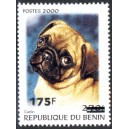 "2005 - Mi 1393 - local overprint 175 f - Dog ""carlin"" - CV 40 € MNH"