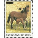 2000 - Mi 1285 - local overprint 150 f - Horses - CV 100 € MNH
