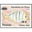 "2000 - Mi 1287 - local overprint 150 f - Fish ""carangidae"" - CV 100 € MNH"