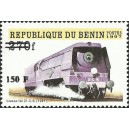 "2000 - Mi 1289 - local overprint 150 f - Trains ""classe 21-C-6"" - CV 100 € MNH"