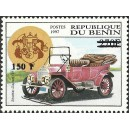 "2000 - Mi 1293 - local overprint 150 f - Old car ""Stoddar-Dayton 1911"" - CV 100 € MNH"